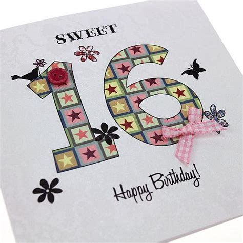 Handmade 16th Birthday Cards - pin by maxine dyer on craft ideas birthday cards