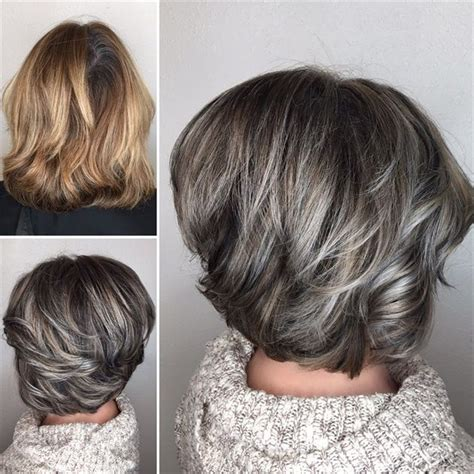 highlights to blend with grey 25 best ideas about gray streaks on pinterest silver
