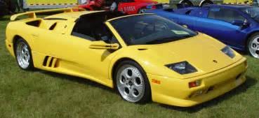 1999 Lamborghini Diablo 1999 Lamborghini Diablo Vt Yellow Side Angle