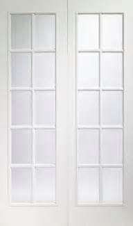 White Doors With Glass Oak Door Portabello White Interior Door Pair