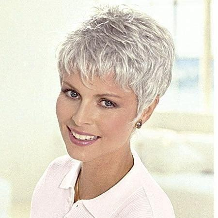 short cuts for grey thin hair 20 best ideas of short hairstyles for salt and pepper hair