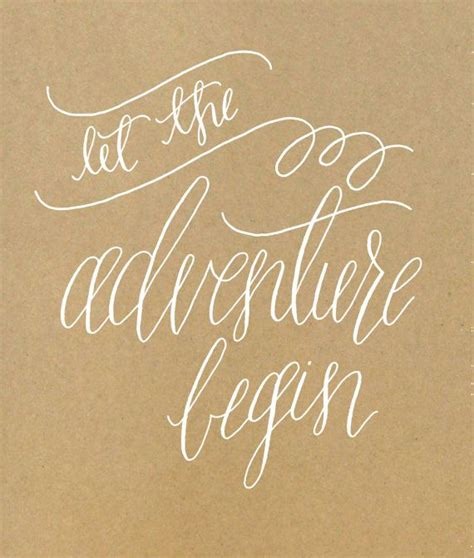 Sign Up Banner 5729 by Let The Adventure Begin Calligraphy Print Captivated