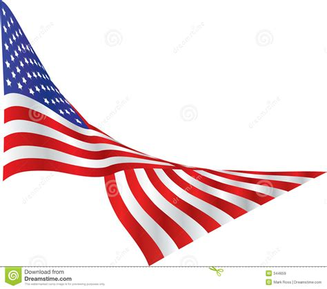 draped flag american flag draped in the wind royalty free stock images