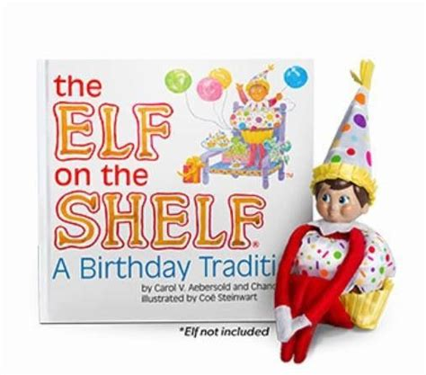 On A Shelf Birthday by Happy Birthday On The Shelf