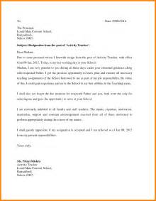 School Resignation Letter by 9 How To Write Resignation Letter From School Daily Task Tracker