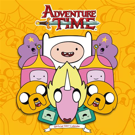 adventure time 2018 wall calendar adventure time calendars 2018 on europosters