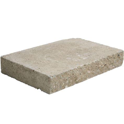 pavestone 12 in x 8 in x 2 in buff concrete wall cap