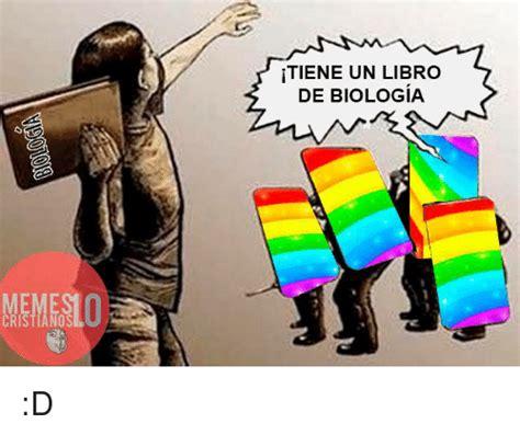 un libro de mrtires 105 cristiano tiene un libro de biologia d espanol meme on sizzle
