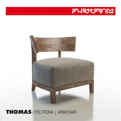 flexform armchair max flexform thomas armchair