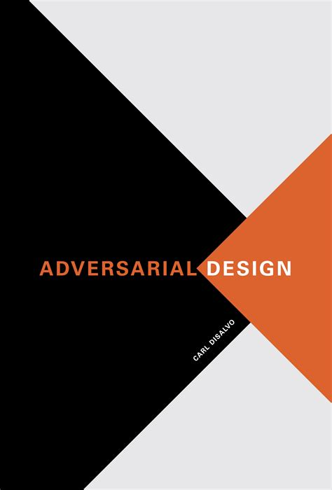 Design Design | adversarial design the mit press