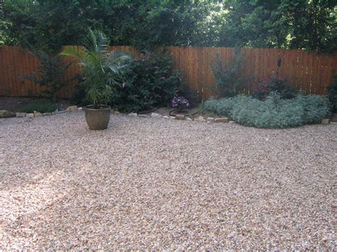 backyard gravel ideas gravel and grass landscaping ideas landscaping