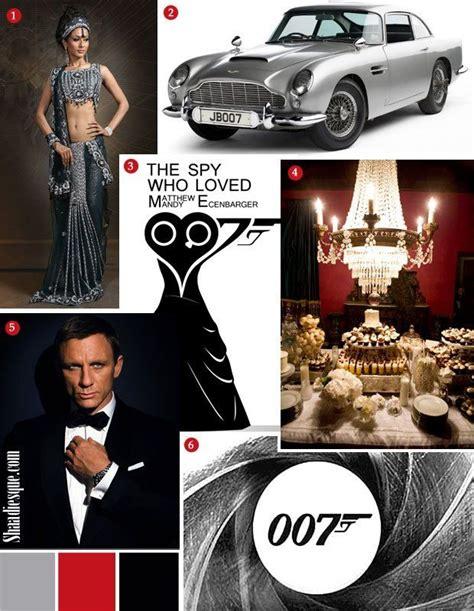 love themes e5 james bond 007 wedding theme inspiration board omg love