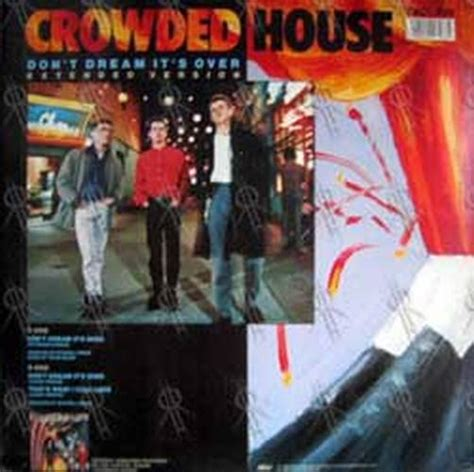 crowded house don t dream it s over lyrics crowded house don t dream it s over 10 inch vinyl rare records