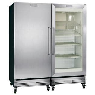 Frigidaire Fcgm201rfb 19 53 Cu Ft Refrigerator Frigidaire Commercial Refrigerator Glass Door