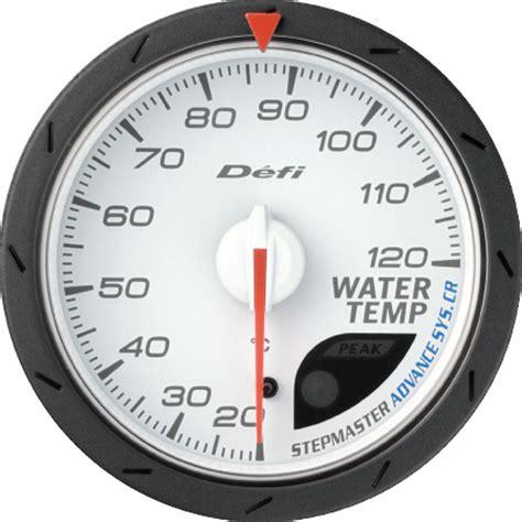 Indicator Defi Cr defi advance cr water temp