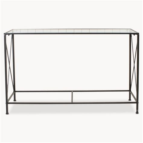 X Console Table X Brace Console Table