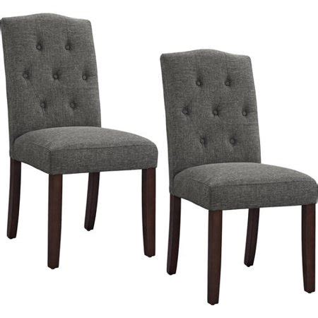 Grey Parsons Chair - better homes and gardens parsons tufted dining chair grey