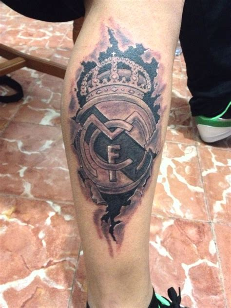 Tattoo 3d Real Madrid | 45 awesome real madrid tattoos