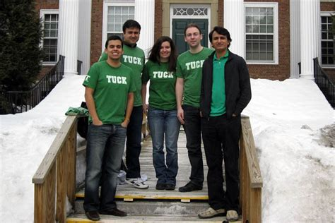 Financing Tuck Mba by Greetings From Tuck School Of Business 300 House India