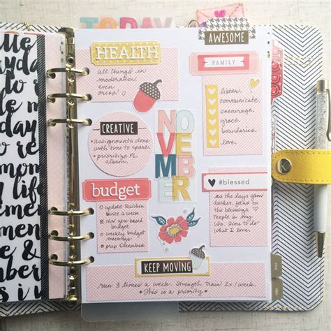 make every day a weekly planner for creative thinkers with techniques exercises reminders and 500 stickers to do books 25 best ideas about planners on planner