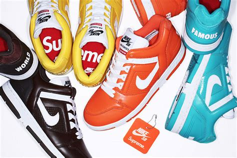 Nike Sb Supreme 2 supreme unveils collaboration with nike sb