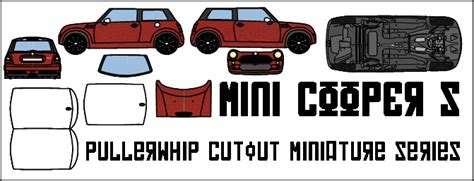 Mini Cooper Papercraft - mini cooper s by pullerwhip on deviantart