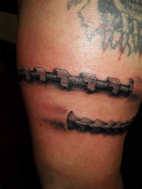 chain saw by inkcompativeltattoo on deviantart