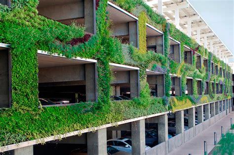 green parking designs beautify city living dig  design