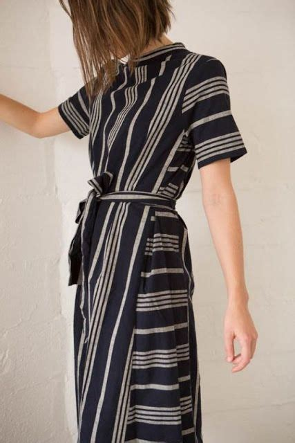 Striped Army Look Dress best 25 striped dress ideas on shift