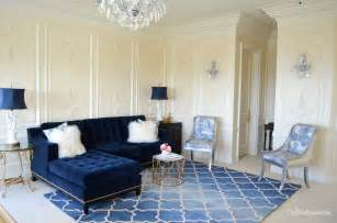 Blue Living Room Chairs Design Ideas 21 Different Style To Decorate Home With Blue Velvet Sofa