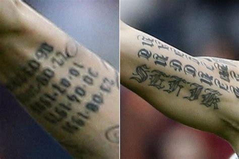 zlatan tattoo arm zlatan ibrahimović s tattoos their meanings body art guru