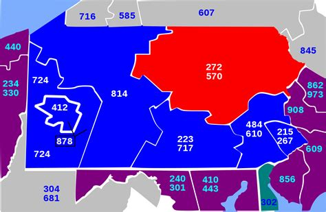 area codes area codes 272 and 570 wikipedia