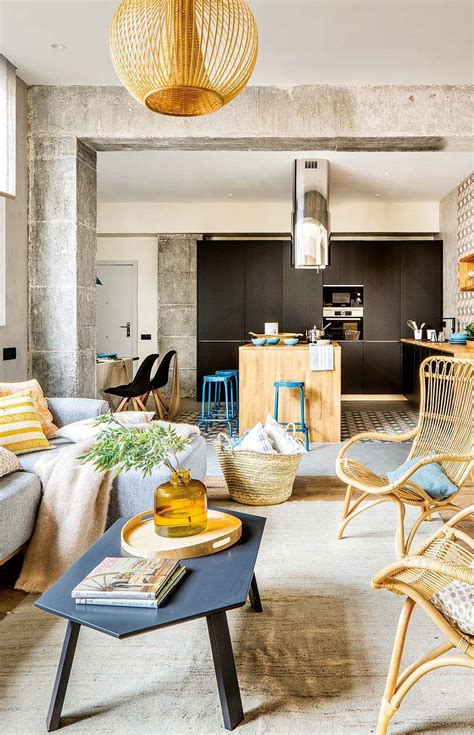 spanish appartment inspiring spanish apartment features raw industrial details