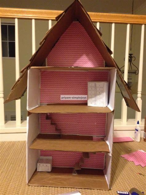 cardboard doll houses simplejoys cardboard dollhouse