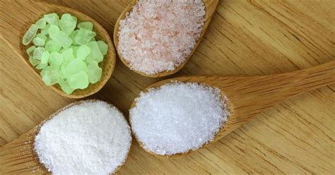 what are salt ls for what is difference between epsom salts and table salt