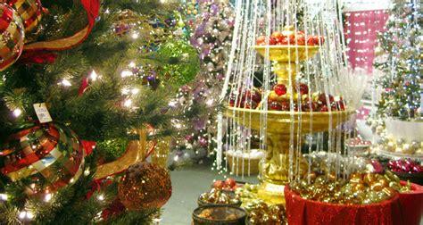 christmas tree decorators for hire los angeles los angles best trees decor showroom aldik home
