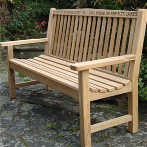 commemorative benches kingdom teak weather cover for 150cm wide bench