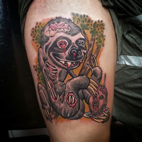 tattoo fixers zombie knob sketch reppin ink on twitter quot check it out zombie sloth