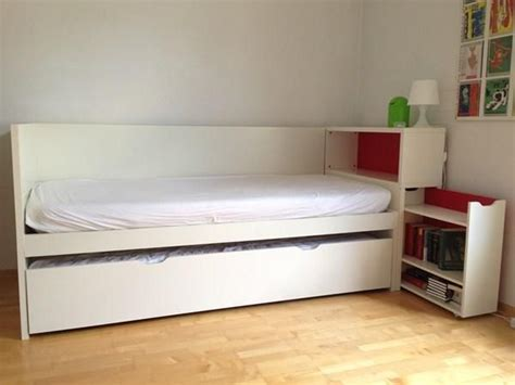 flaxa bed hack ikea flaxa with headboard storage and trundle bed bed for storage trundle