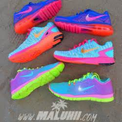 bright colored nike shoes 25 best ideas about neon nike shoes on
