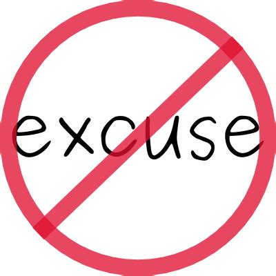 No Excuse no excuse sunday again and again