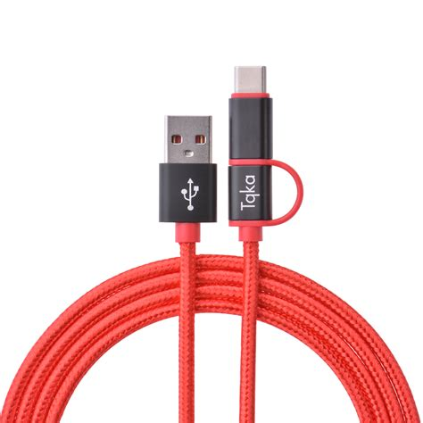 Cable Kabel Data Charge Charging Uneed Micro Usb Fast Charging 2 1a tqka usb type c cable usb c micro usb data sync fast