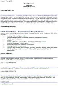 download beauty therapist cv example images frompo