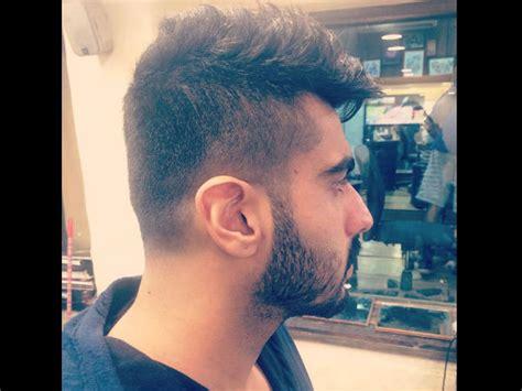frontlook of arjun kapoor with his new hair cut is arjun kapoor having this new look for a new movie