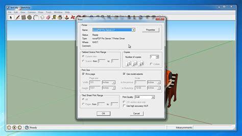 google sketchup tutorial copy convert google sketchup to pdf youtube