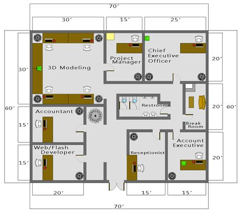 House Plan Ideas South Africa by Autocad Business Floor Plan