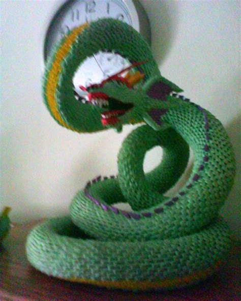 3d Origami Models - 3d origami serpent by dfoosdc on deviantart