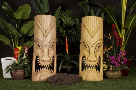 Palm Tiki Custom Made Palm Trees Tiki Poles