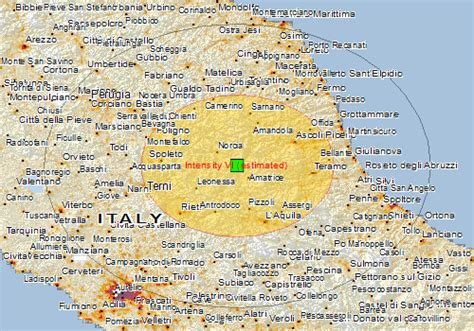 norcia italy map magnitude 6 2 earthquake southeast of norcia italy yubanet