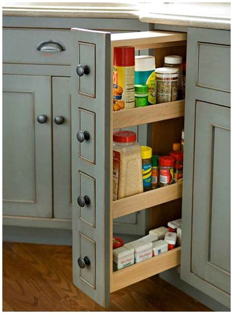 25 best ideas about spice cabinets on kitchen